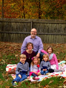 Finn Family, Fall 2015. Image courtesy of Kimberly Davidson Campbell.