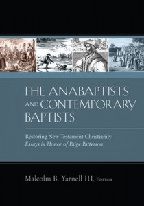 Anabaptists and Contemporary Baptists